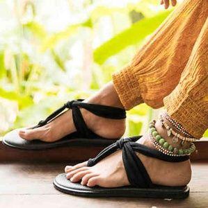 Yoga sling flat sandle